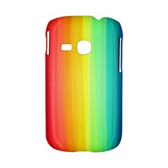 Sweet Colored Stripes Background Samsung Galaxy S6310 Hardshell Case