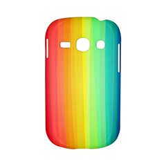 Sweet Colored Stripes Background Samsung Galaxy S6810 Hardshell Case