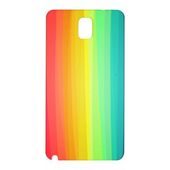 Sweet Colored Stripes Background Samsung Galaxy Note 3 N9005 Hardshell Back Case