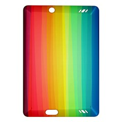 Sweet Colored Stripes Background Amazon Kindle Fire HD (2013) Hardshell Case