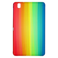 Sweet Colored Stripes Background Samsung Galaxy Tab Pro 8.4 Hardshell Case