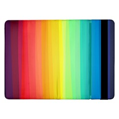 Sweet Colored Stripes Background Samsung Galaxy Tab Pro 12.2  Flip Case