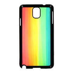 Sweet Colored Stripes Background Samsung Galaxy Note 3 Neo Hardshell Case (Black)