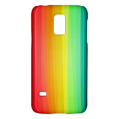 Sweet Colored Stripes Background Galaxy S5 Mini