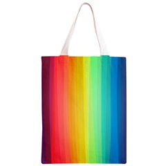Sweet Colored Stripes Background Classic Light Tote Bag