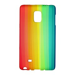Sweet Colored Stripes Background Galaxy Note Edge