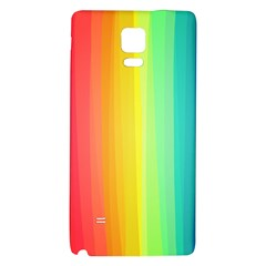 Sweet Colored Stripes Background Galaxy Note 4 Back Case
