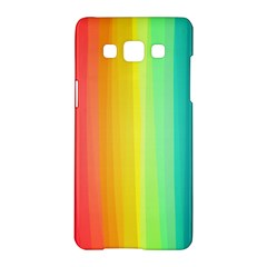 Sweet Colored Stripes Background Samsung Galaxy A5 Hardshell Case