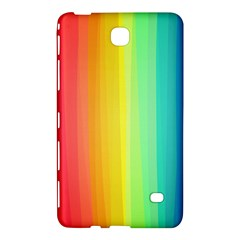 Sweet Colored Stripes Background Samsung Galaxy Tab 4 (8 ) Hardshell Case