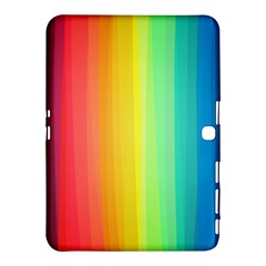 Sweet Colored Stripes Background Samsung Galaxy Tab 4 (10.1 ) Hardshell Case