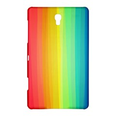 Sweet Colored Stripes Background Samsung Galaxy Tab S (8.4 ) Hardshell Case