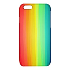 Sweet Colored Stripes Background iPhone 6/6S TPU Case