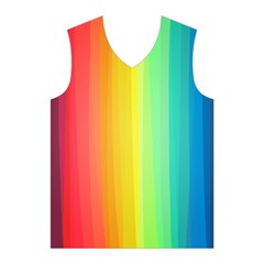 Sweet Colored Stripes Background Men s Basketball Tank Top