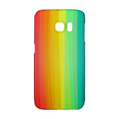 Sweet Colored Stripes Background Galaxy S6 Edge