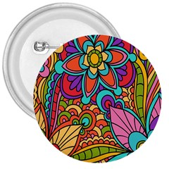 Festive Colorful Ornamental Background 3  Buttons