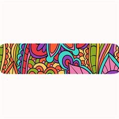 Festive Colorful Ornamental Background Large Bar Mats