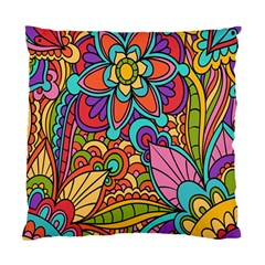 Festive Colorful Ornamental Background Standard Cushion Case (Two Sides)