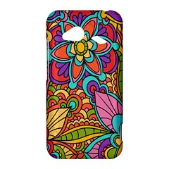 Festive Colorful Ornamental Background HTC Droid Incredible 4G LTE Hardshell Case
