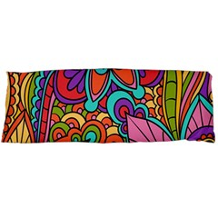 Festive Colorful Ornamental Background Body Pillow Case Dakimakura (Two Sides)
