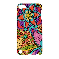 Festive Colorful Ornamental Background Apple iPod Touch 5 Hardshell Case