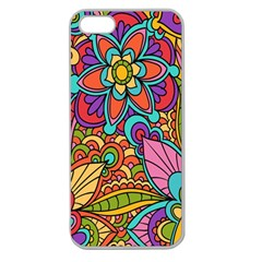 Festive Colorful Ornamental Background Apple Seamless iPhone 5 Case (Clear)
