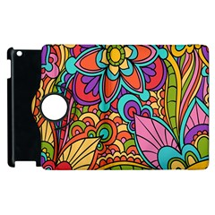 Festive Colorful Ornamental Background Apple iPad 2 Flip 360 Case