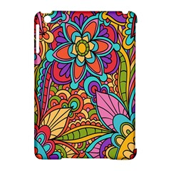 Festive Colorful Ornamental Background Apple iPad Mini Hardshell Case (Compatible with Smart Cover)