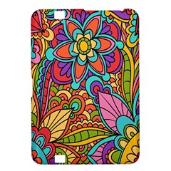 Festive Colorful Ornamental Background Kindle Fire HD 8.9