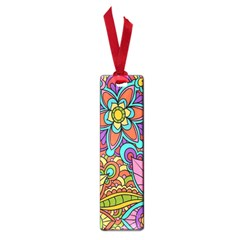 Festive Colorful Ornamental Background Small Book Marks
