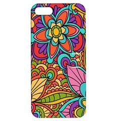 Festive Colorful Ornamental Background Apple iPhone 5 Hardshell Case with Stand