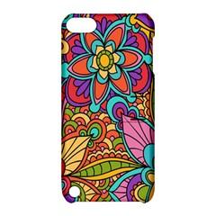 Festive Colorful Ornamental Background Apple iPod Touch 5 Hardshell Case with Stand