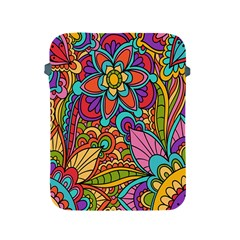 Festive Colorful Ornamental Background Apple iPad 2/3/4 Protective Soft Cases