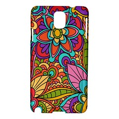 Festive Colorful Ornamental Background Samsung Galaxy Note 3 N9005 Hardshell Case
