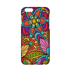 Festive Colorful Ornamental Background Apple iPhone 6/6S Hardshell Case