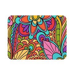 Festive Colorful Ornamental Background Double Sided Flano Blanket (Mini)