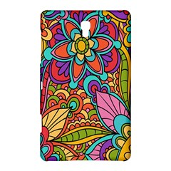 Festive Colorful Ornamental Background Samsung Galaxy Tab S (8.4 ) Hardshell Case