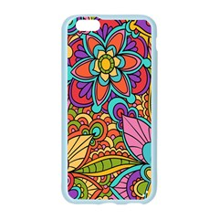 Festive Colorful Ornamental Background Apple Seamless iPhone 6/6S Case (Color)