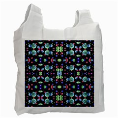 Multicolored Galaxy Pattern Recycle Bag (One Side)