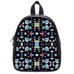 Multicolored Galaxy Pattern School Bags (Small)