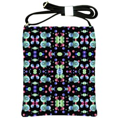 Multicolored Galaxy Pattern Shoulder Sling Bags