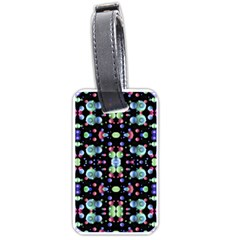 Multicolored Galaxy Pattern Luggage Tags (One Side)