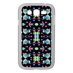 Multicolored Galaxy Pattern Samsung Galaxy Grand DUOS I9082 Case (White)