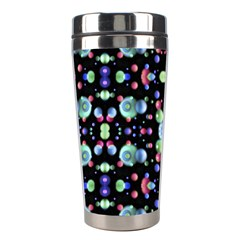 Multicolored Galaxy Pattern Stainless Steel Travel Tumblers