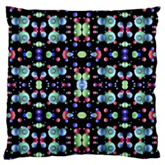 Multicolored Galaxy Pattern Standard Flano Cushion Case (Two Sides)