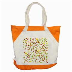Colorful Fall Leaves Background Accent Tote Bag