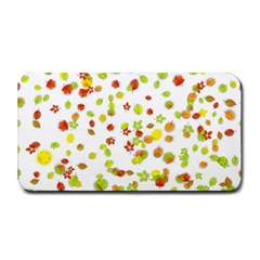 Colorful Fall Leaves Background Medium Bar Mats