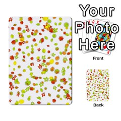 Colorful Fall Leaves Background Multi-purpose Cards (Rectangle)