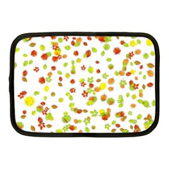 Colorful Fall Leaves Background Netbook Case (Medium)