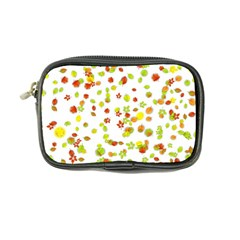 Colorful Fall Leaves Background Coin Purse