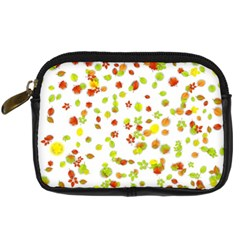 Colorful Fall Leaves Background Digital Camera Cases